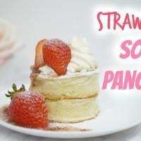 Strawberry Soufflé Pancakes