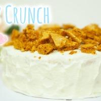 Honey Crunch Chiffon Cake [Honeycomb]